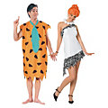 Adult's The Flintstones™ Fred & Wilma Couples Costumes Image Thumbnail 1