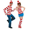 Adult's Where's Waldo Couples Costumes  Image Thumbnail 1