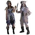 Adult's Zombie Pirate Couples Costumes  Image Thumbnail 1
