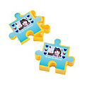 Autism Awareness Puzzle Piece Custom Photo Favor Containers