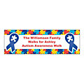 Autism Awareness Ribbon Custom Banner - Small