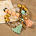 Beaded Tassel Bracelet Idea Image Thumbnail 1