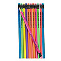 Bulk Personalized Neon Solid Color Pencils - 72 Pc.