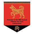 Chinese New Year Pennant Custom Banner