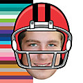 Custom Photo Football Big Head Cutout