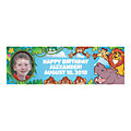Custom Photo Small Zoo Adventure Vinyl Banner