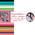Four-Image Wedding Photo Custom Banner