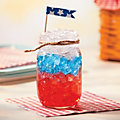 Mason Jar Patriotic Punch Recipe Image Thumbnail 1