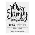 Personalized Blended Family Sign