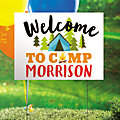 Personalized Camp Party Yard Sign