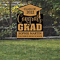 Personalized Congrats Grad Yard Sign