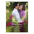 Personalized Custom Photo Wedding Invitations