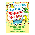 Personalized Dr. Seuss™ Baby Shower Welcome Sign