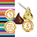 Personalized Fairy Tale Wedding Hershey's® Kiss® Stickers