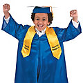 Personalized Kids' Yellow Elementary School Graduation Stole