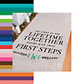 Personalized Lifetime Together Aisle Runner