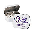 Personalized Love is Patient Mint Tins