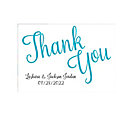 Personalized Love Script Thank You Cards