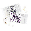 Personalized Our Love Is Poppin' Mini Popcorn Bags