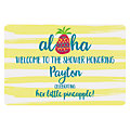 Personalized Pineapple Sign