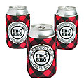 Personalized Premium Neoprene I Do BBQ Can Coolers