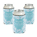 Personalized Premium Neoprene Lace Can Coolers