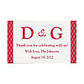 Personalized Rectangular Favor Stickers