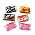 Personalized She Said Yes Mini Candy Bar Sticker Labels