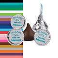 Personalized Thank You Hershey's<sup>®</sup> Kisses<sup>®</sup> Stickers
