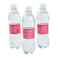 Personalized Time To Drink Water Bottle Labels