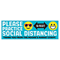 Practice Social Distancing Custom Banner - Large
