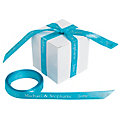 Turquoise Personalized Ribbon - 3/8