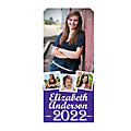 Vertical Four-Image Graduation Photo Door Custom Banner