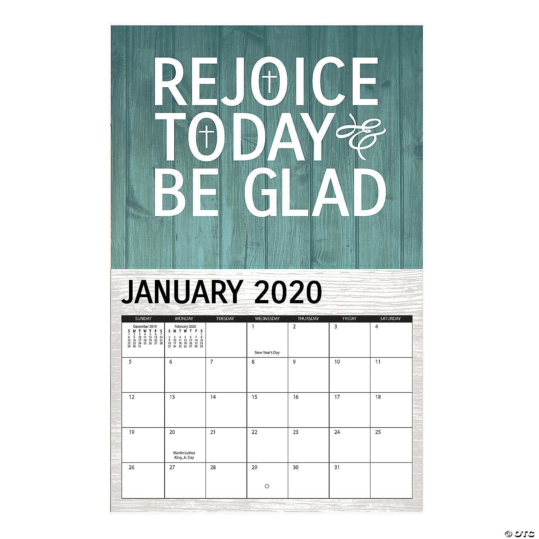 2020 Rustic Faith Wall Calendar Discontinued