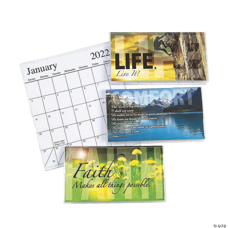 2021   2022 Inspirational Pocket Calendars | Oriental Trading