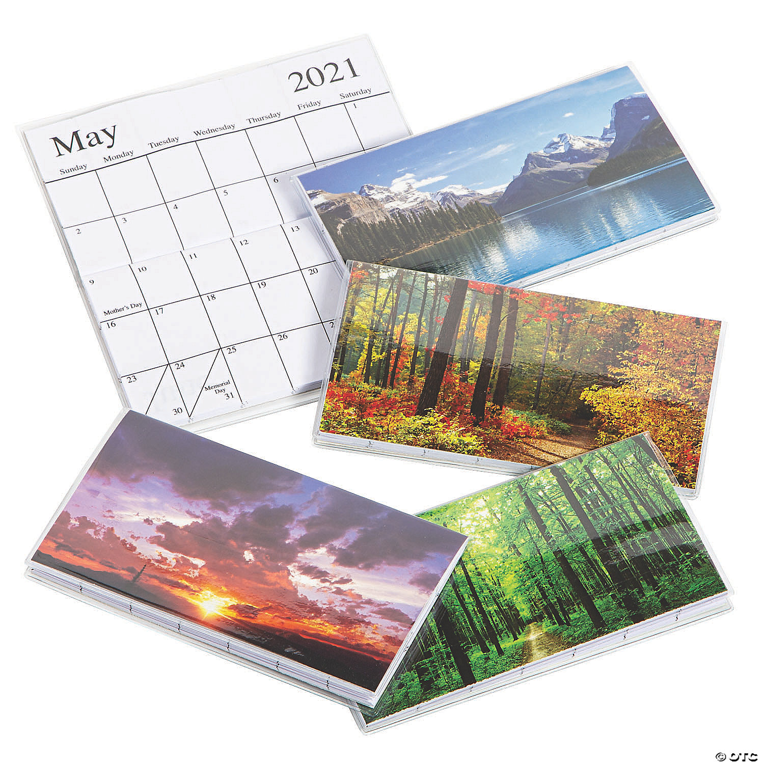 2021   2022 Nature Pocket Calendars | Oriental Trading