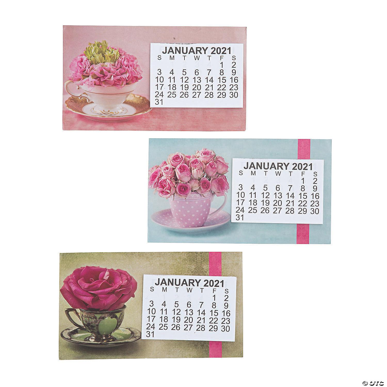Calendar Magnets 2021 Background