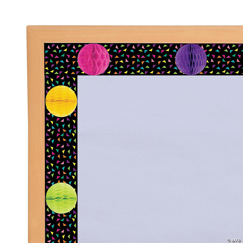 3d Confetti Classroom Bulletin Board Borders Oriental Trading