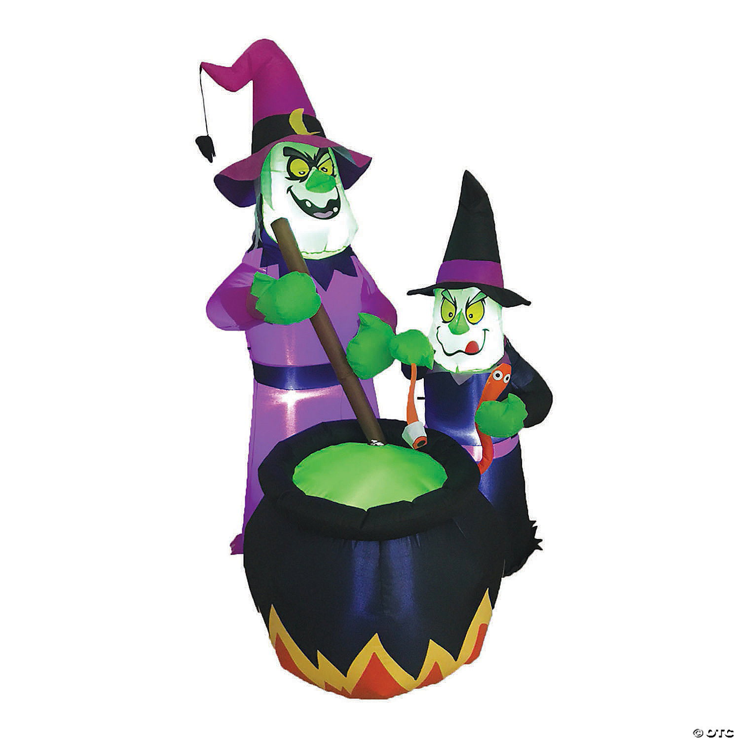 73 Blow Up Inflatable Witches Brew Halloween Decoration Oriental Trading