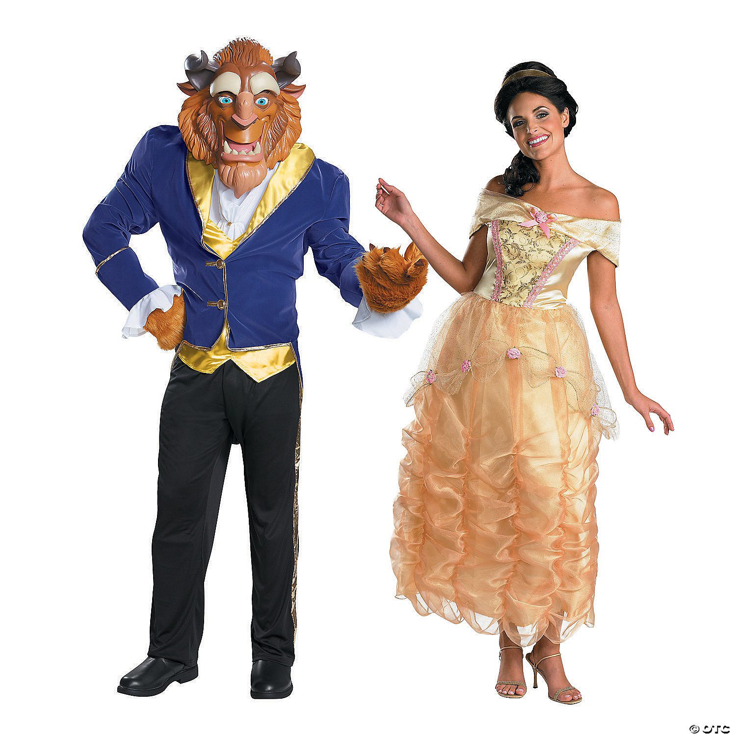 Adult S Beauty The Beast Couples Costumes Oriental Trading