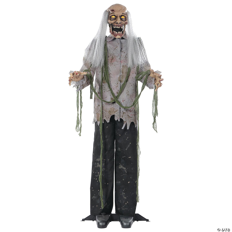 Animated Zombie Prop Halloween Decoration