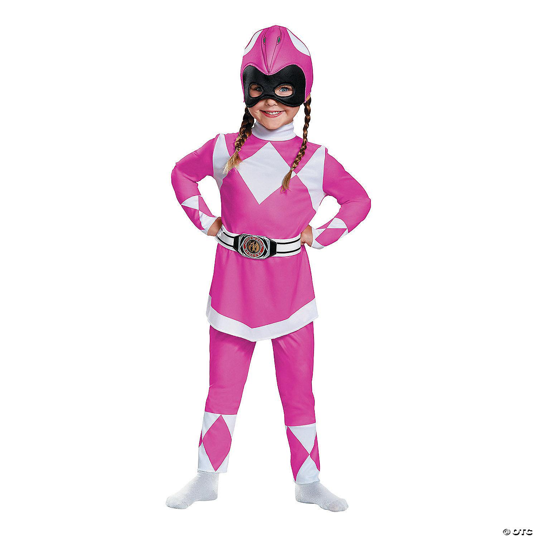 Baby/Toddler Girl's Classic Power Rangers! Pink Ranger Costume