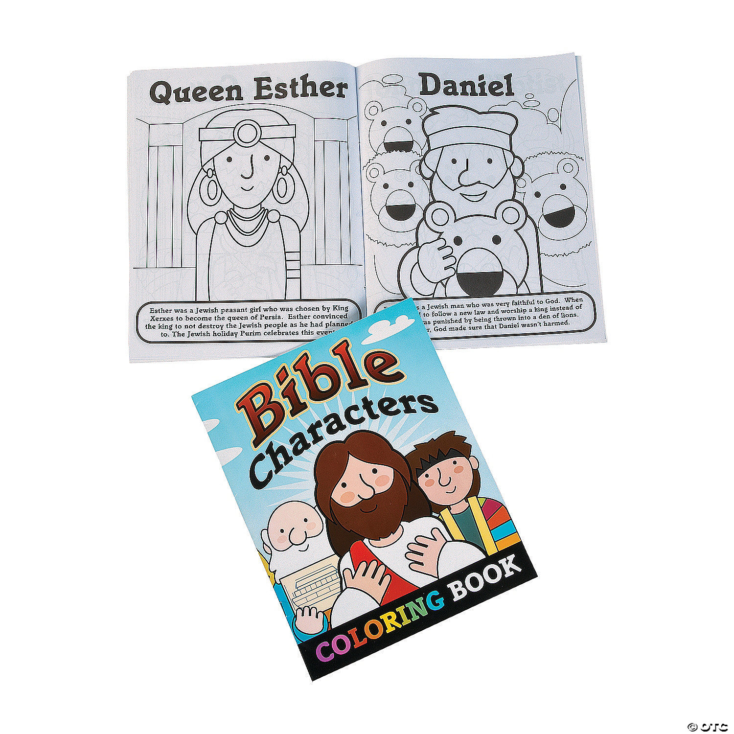 - Bible Story Coloring Books Oriental Trading