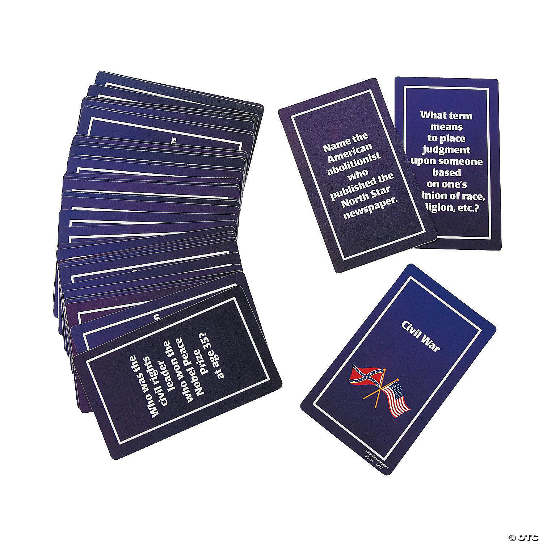 Black History Flash Cards Oriental Trading