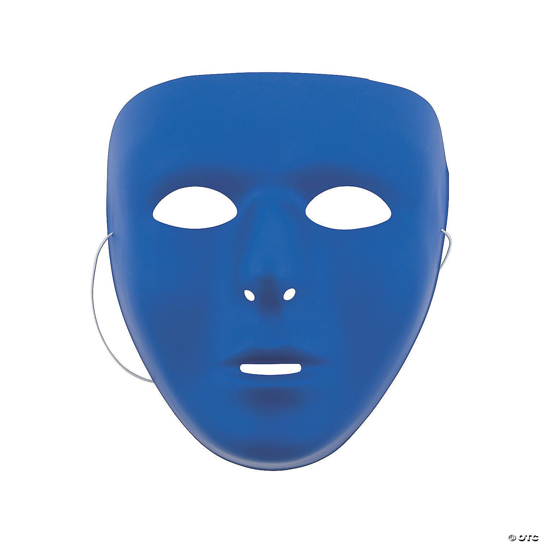 Masks Masks Blue Blue Face Face Blue