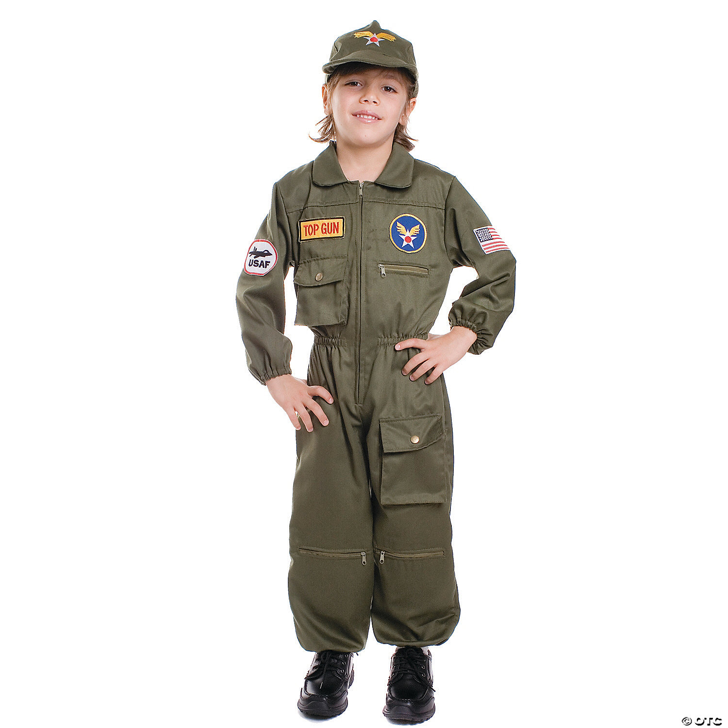 Boy's Air Force Pilot Costume