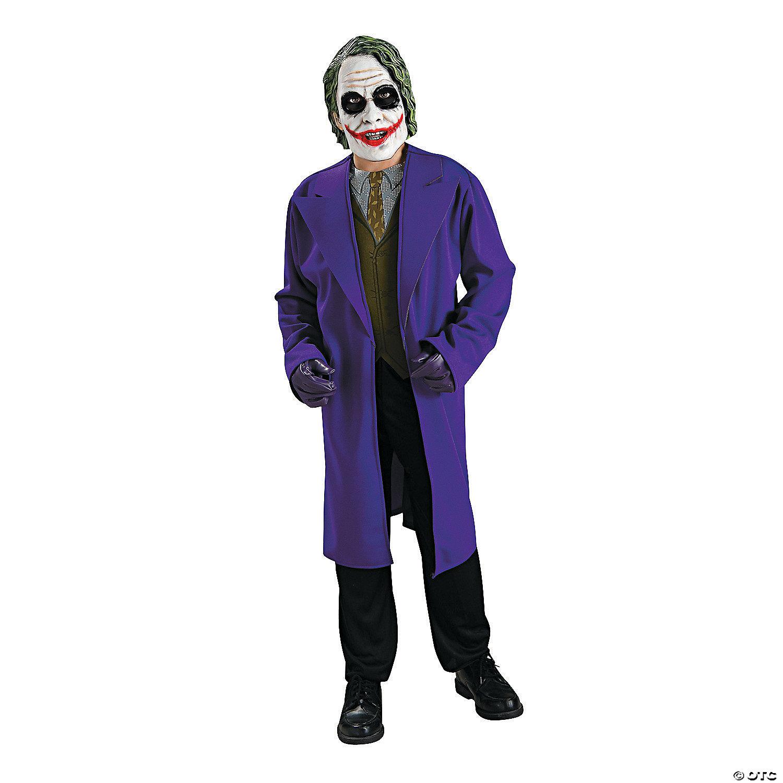 Child/'s Medium Batman The Dark Knight Deluxe The Joker Costume