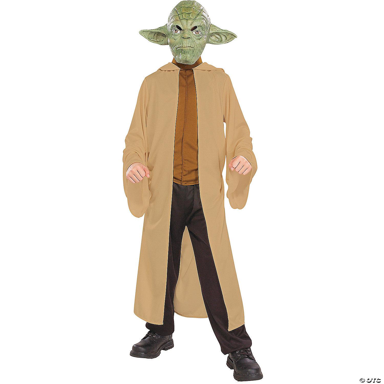 Costume Halloween Yoda.Boy S Brown Robe Star Wars Yoda Costume Oriental Trading