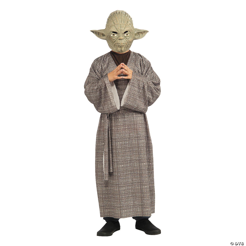 Costume Halloween Yoda.Boy S Deluxe Star Wars Yoda Costume Large Oriental Trading