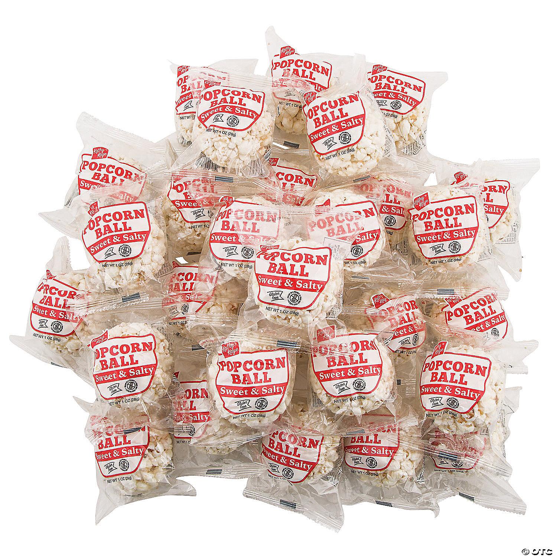 Bulk Kathy Kaye Sweet Salty Popcorn Balls 100 Pc Oriental Trading